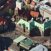 15k2_08458 15.05.2015 Luftbild Bremen Rathaus