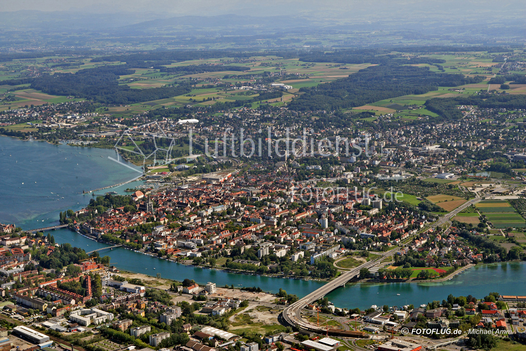 06_11277 19.08.2006 Luftbild Konstanz
