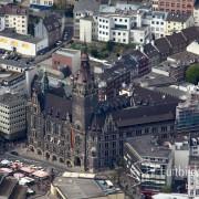 Luftbild Rathaus Wuppertal