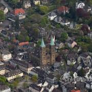 Luftbild Schwelm Kirche