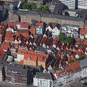 15k2_08323 15.05.2015 Luftbild Bremen Schnoorviertel