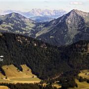 Luftbild Allgäuer Alpen