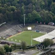 Stadion des WSV im Luftbild