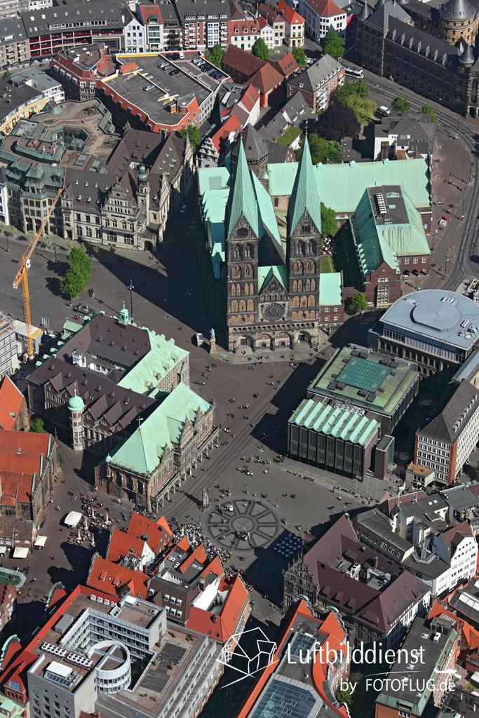 Luftbild Bremen Mitte