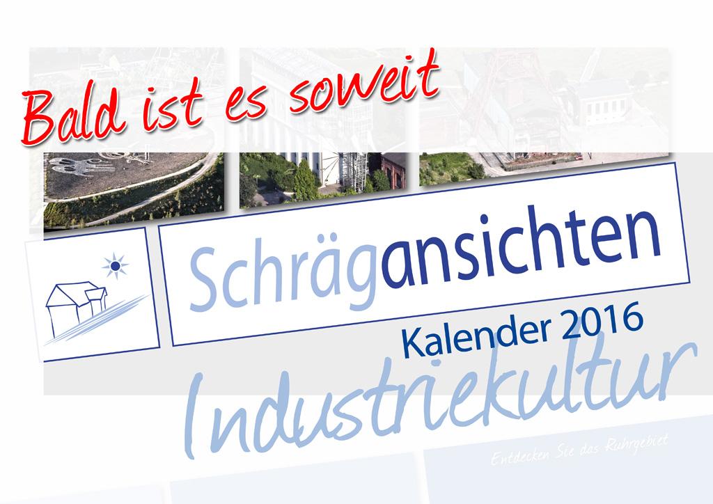 Luftbild Kalender Industriekultur 2016