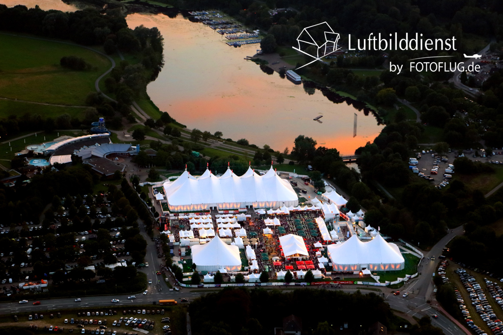 Luftbild Zeltfestival Ruhr 2015