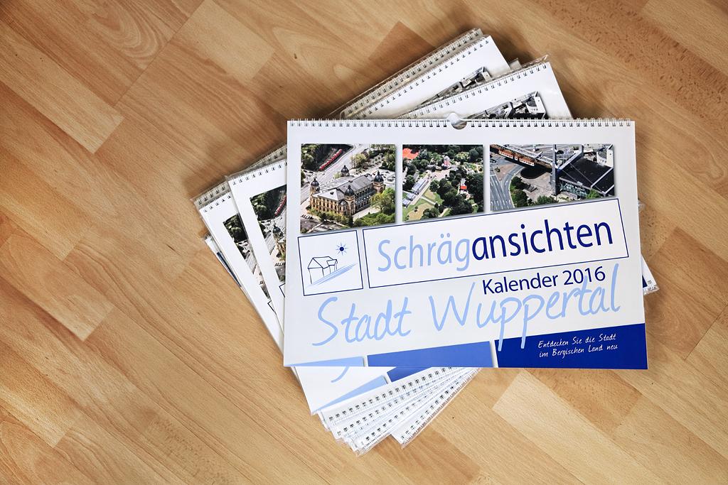 Luftbild Kalender Wuppertal