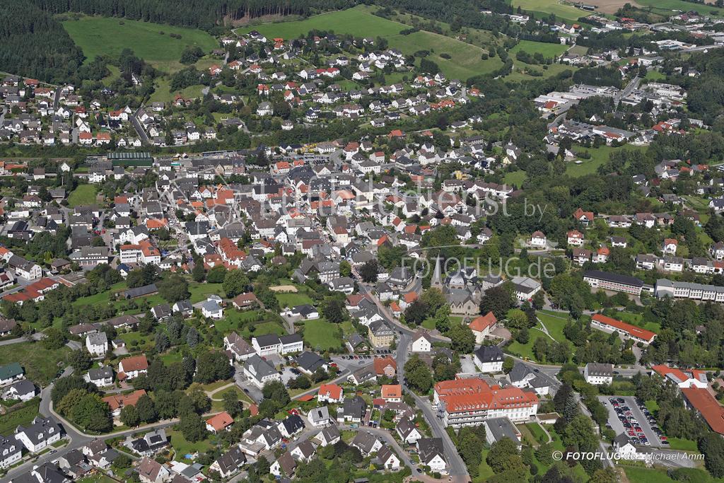 Luftbild Balve, NRW