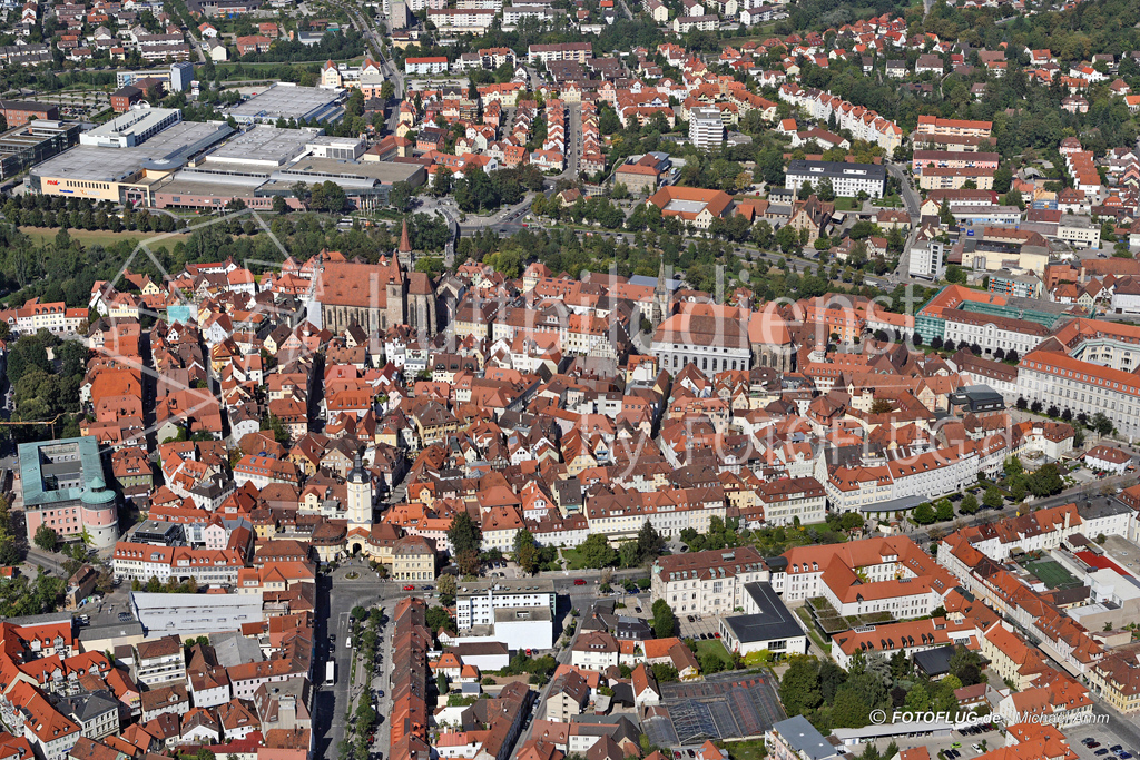 Luftbild Ansbach Pfaffengreuth