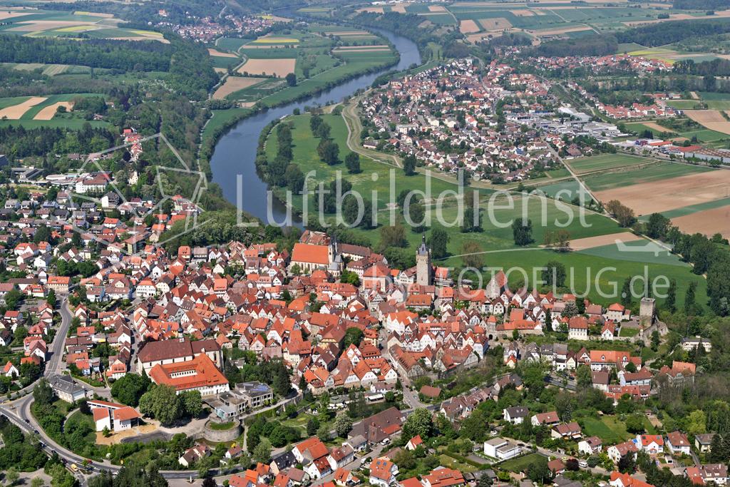 Luftbild Bad Wimpfen