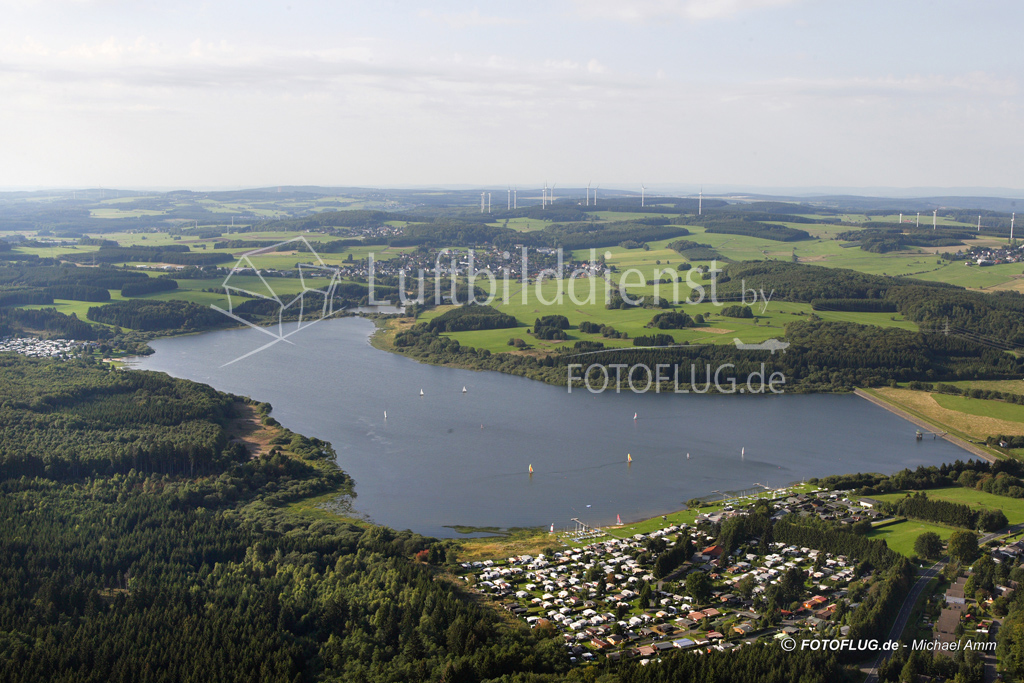 06_14037 10.09.2006 Luftbild Krombachtalsperre