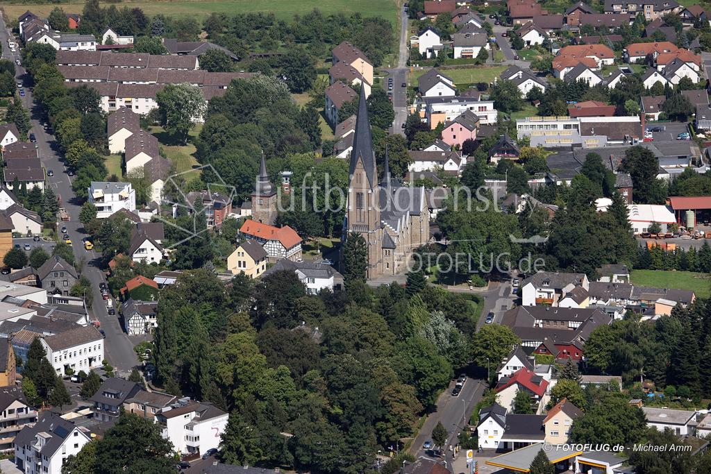 09_12289 19.08.2009 Luftbild Hennef
