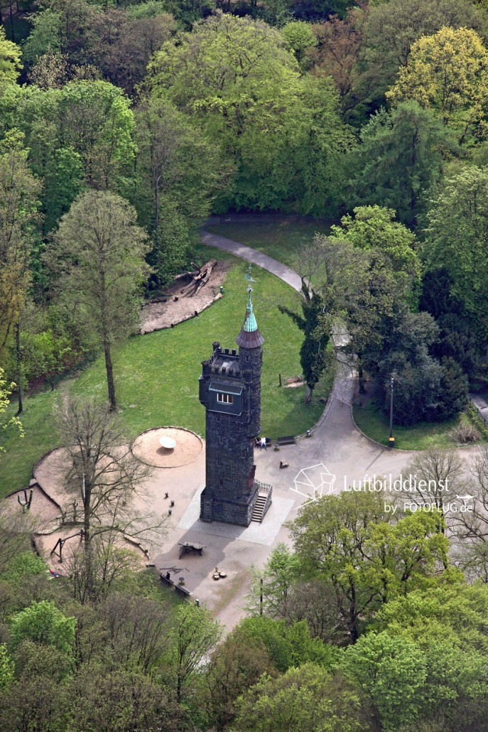 15k2_08048 02.05.2015 Luftbild Wuppertal Von-der-Heydt-Turm