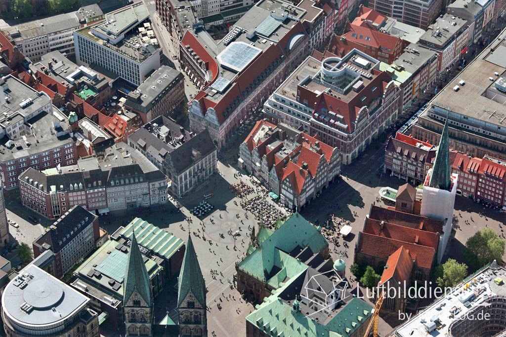 15k2_08333 15.05.2015 Luftbild Bremen Mitte