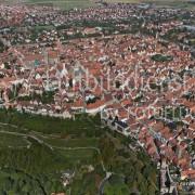 06_15009 21.09.2005 Luftbild Rothenburg ob der Tauber