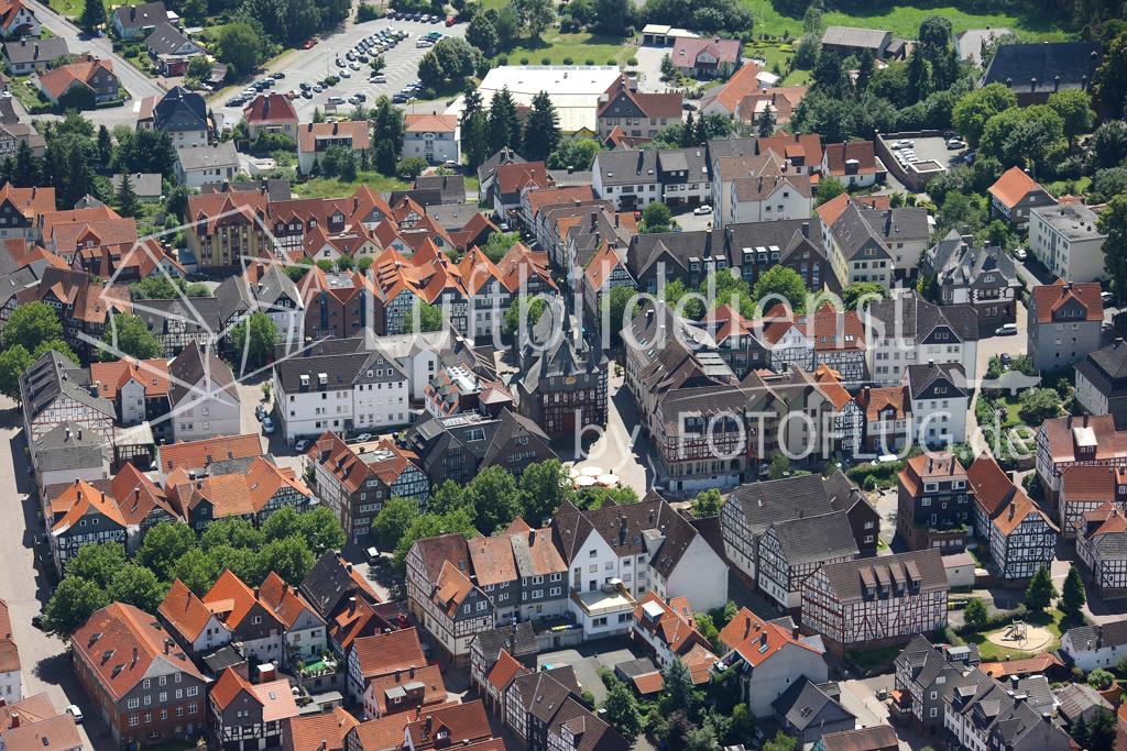 08_12617 01.07.2008 Luftbild Frankenberg-Eder