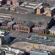 15k2_08354 15.05.2015 Luftbild Bremen Hauptbahnhof