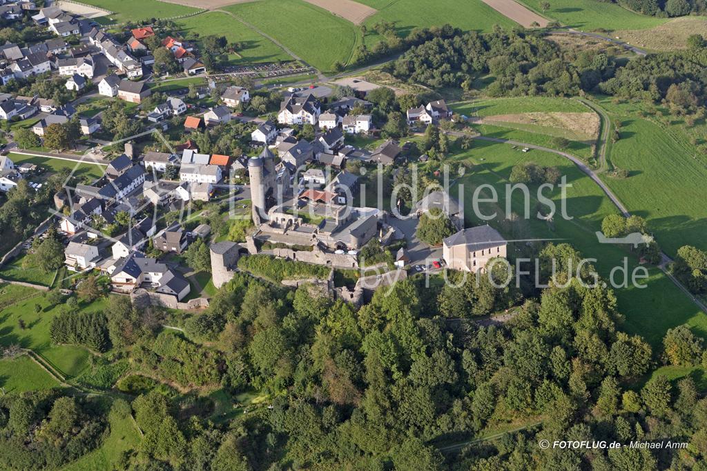 06_14055 10.09.2005 Luftbild Burg Greifenstein