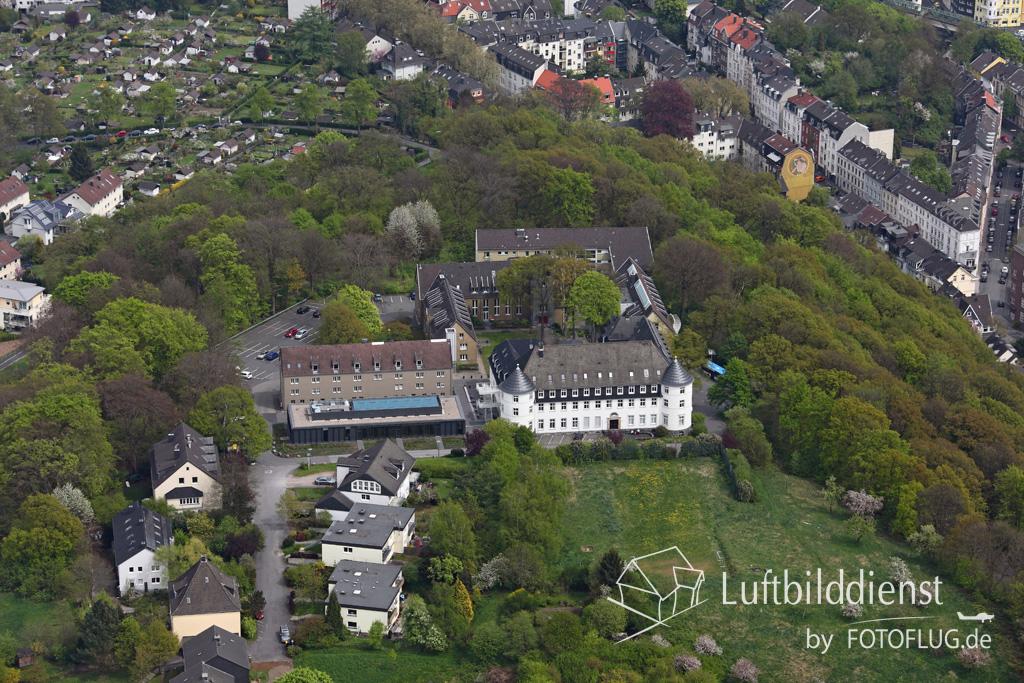 15k2_08120 02.05.2015 Luftbild Wuppertal Museum auf der Hardt