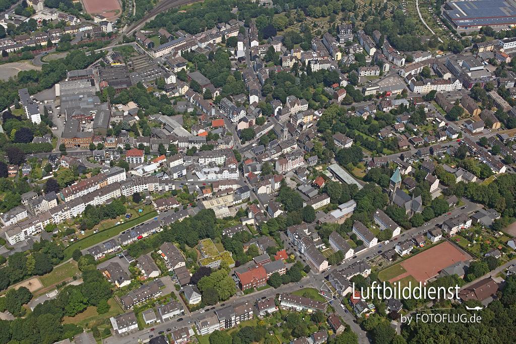 Luftbild Wuppertal Langerfeld