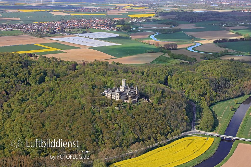 2016_05_04 Luftbild Schloss Marienburg 16k3_2110