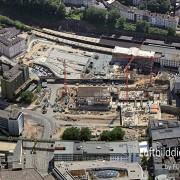 2016_07_19 Luftbild Wuppertal Baustelle Bahnhof 16k3_5296