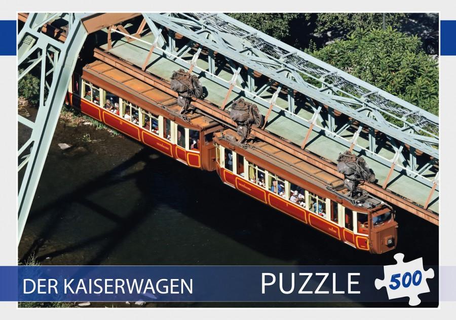 Stülpdeckelkarton Fotopuzzle Kaiserwagen.indd