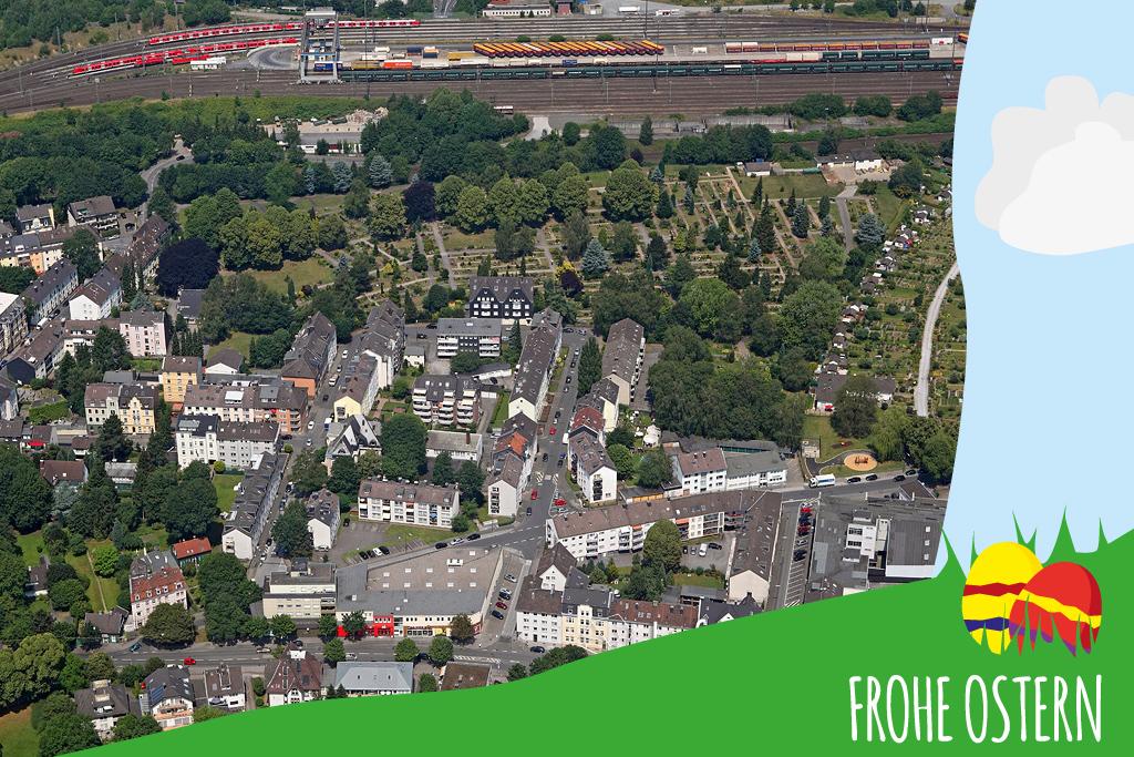 2015_07_04 Luftbild Wuppertal Langerfeld 15k2_7021 Ostern