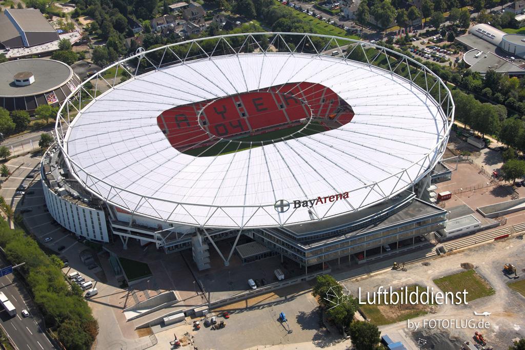 2009_08_19 Luftbild Leverkusen BayArena 09_12266